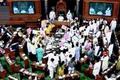 TDP, YSR Congress 'no-trust' motion: Lok Sabha, Rajya Sabha adjourned after ruckus; Shiv Sena says, won't support Centre or Opposition over protest against BJP