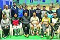 Veteran badminton team leaves for Nationals