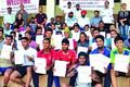 Aryaaveer wins 1000 mts event in district Athletics meet