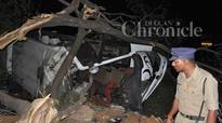 Hyderabad: School bus overturns as steering breaks, 4 injured