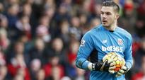 Stoke City goalkeeper Jack Butland out for 10 weeks, says Mark Hughes