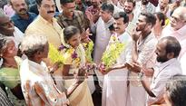 Caste no bar to real love; Akhesh, Akhila ties knot