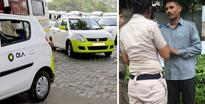 Delhi Girl catches Ola Cab driver filming her inside the car