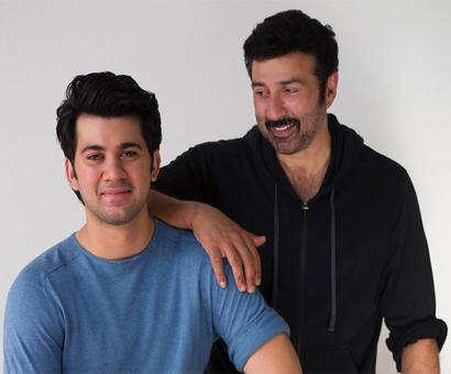Sunny Deol starts shooting of `Pal Pal Dil Ke Paas` with son Karan