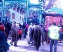 Kashmir Valley celebrates Sufi saint Hazrat Janbaz Wali's Urs