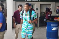 Cubs wear flamboyant outfits on trip to Miami