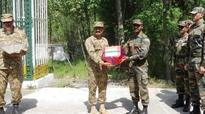 Armies of India, Pakistan exchange sweets on LoC on occasion of Eid