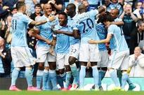 Manchester City slickers down Watford to set club record