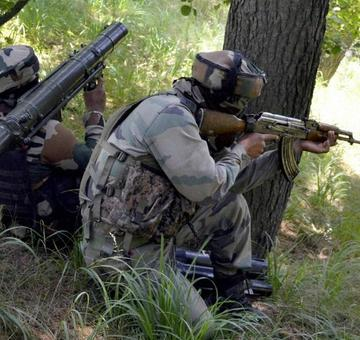 Army foils infiltration bid in Machil sector, 1 terrorist killed