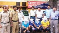 Four gangmen who robbed man by pretending to be cops, nabbed