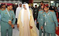 Nahyan bin Mubarak Visits Abu Dhabi Police Pavilion at Tawdheef 2016
