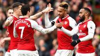 Premier League: Arsenal win 3-0 to leave Stoke stuck in drop zone