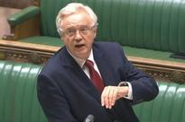 Brexit Secretary David Davis admits employers face a 'cliff edge' if we can't get an EU trade deal