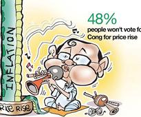 Coming up is next LS polls going to be all about price rise corruption