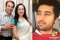 'Genius' gets blessings from Dharmendra and Hema Malini