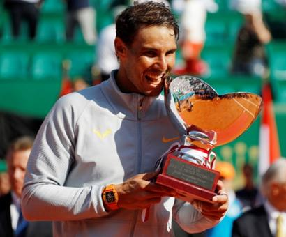 Nadal claims record-extending 11th Monte Carlo title
