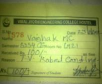 Kerala Engineering College Allegedly Fined A...