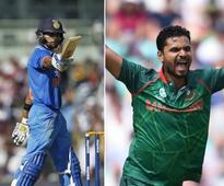 India vs Bangladesh, Live score, Champions Trophy 2017 cricket updates: Soumya bowled by Bhuvneshwar for duck