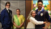Amitabh and Abhishek Bachchan share sweet messages on Jaya Bachchan's birthday!