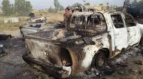 ISIL convoy blown to pieces fleeing Fallujah