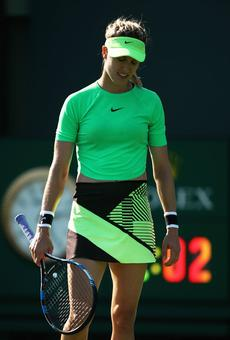 Miami Open: Bouchard, Puig exit; Escobdeo upsets Britain's Evans
