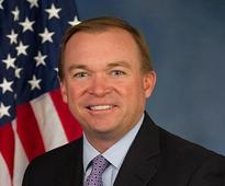 Trump appoints WH budget chief Mick Mulvaney as financial watchdog head