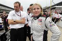 Pippa Mann in the fast lane