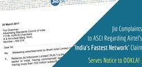 Jio Complaints To ASCI For Airtel's 'Fastest Network' Ads . Also, Serves Legal Notice to OOKLA
