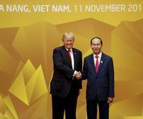 Trump, Vietnam's Prez underscore free and open access to South China Sea