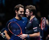 Wawrinka upset about Federer's absence
