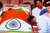 Jayalalithaa death: A visibly shocked and upset Rajinikanth pays tribute to Amma at Rajaji Hall