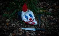 Police search for knife-wielding clown