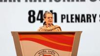 Modi govt has left no stone unturned to destroy us, will never cower down: Sonia Gandhi at Congress Plenary