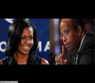 Michelle Obama may have dated Treasury Department Inspector General J Russell George at Harvard Law School.