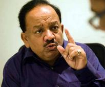 Can't comment on Congress supporting AAP: Harsh Vardhan