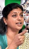 Roja slams Naidu, Venkaiah on SCS
