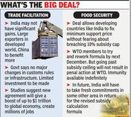 WTO endorses its first trade deal in 20 years