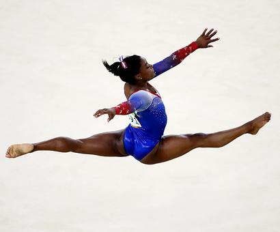 Biles wins record-equalling fourth gold with floor victory