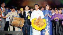 Colourful start to Yuva Sambhrama at Open Air Theatre in Gangothri