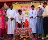 Mangaluru: MCC Bank celebrates Christmas at Sneha Sadan