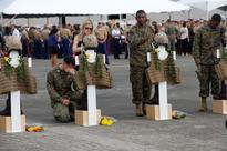Lives of 12 Marines lost in helicopter crash recalled at Hawaii memorial