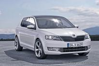 2015 Skoda Fabia undergoes road test in the guise of VW Polo?