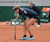 Fifth seed Azarenka quits French Open with injury