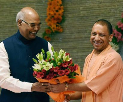 Kovind's pan-India tour starts from UP, meets MLAs for support