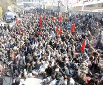 Wapda workers out for rights