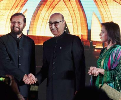 Javadekar attends Pak Day event where Hurriyat leaders attack Centre