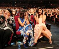 Priyanka Chopra Overcomes Injuries To Stun At People's Choice Awards