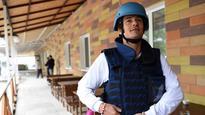 Orlando Bloom visits Ukraine as Unicef ambassador
