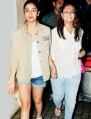 Alia Bhatt enjoys a movie outing with mom Soni Razdan