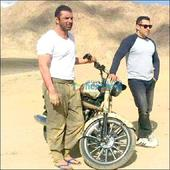 Check out Salman Khan and Sohail Khan in rugged look on the sets of Tubelight